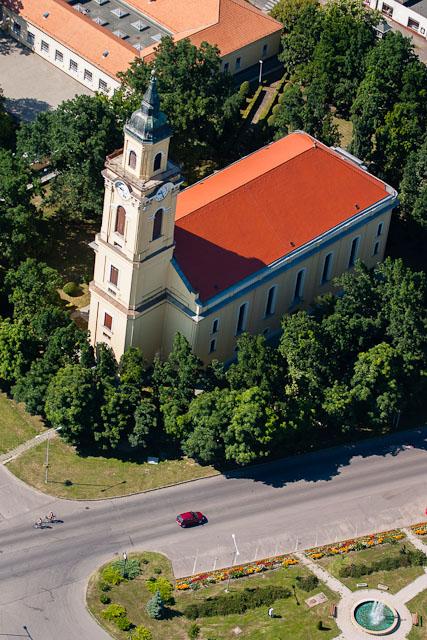 Biserica Reformată Gyomaendrőd, Județul Békés, Ungaria, Provincia Crișana: